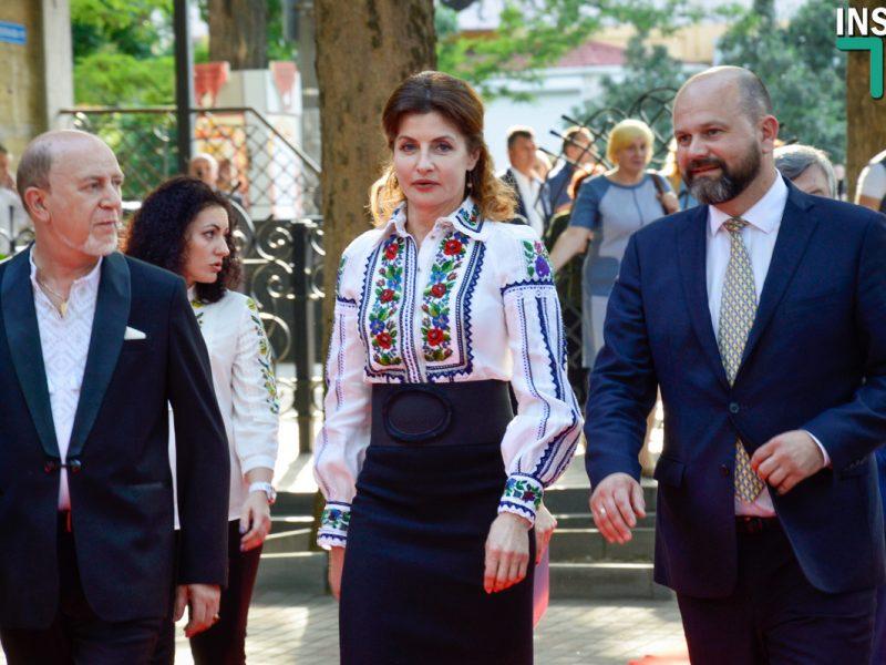 Марина Порошенко открыла в Николаеве международный фестиваль «Мельпомена Таврии»