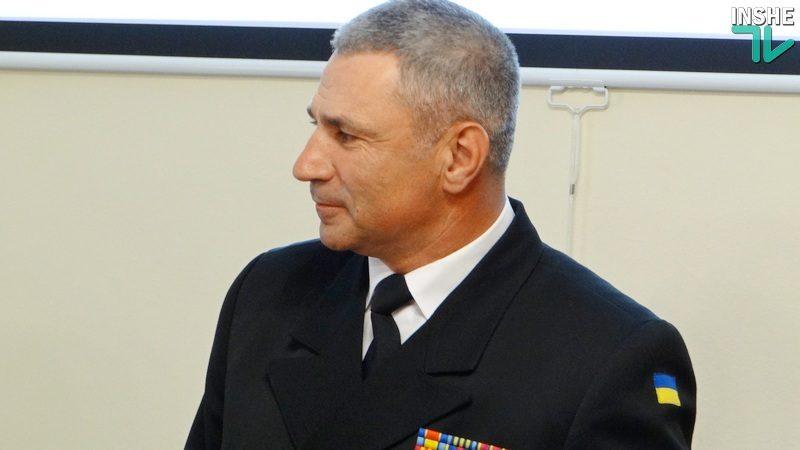 Командующий ВМС Украины Игорь Воронченко предложил себя в обмен на 24 украинских моряка, задержанных в Керченском проливе