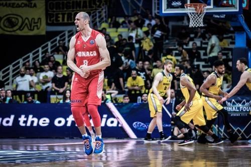 «Монако» николаевца Гладыря проиграл в финале баскетбольной Лиги чемпионов