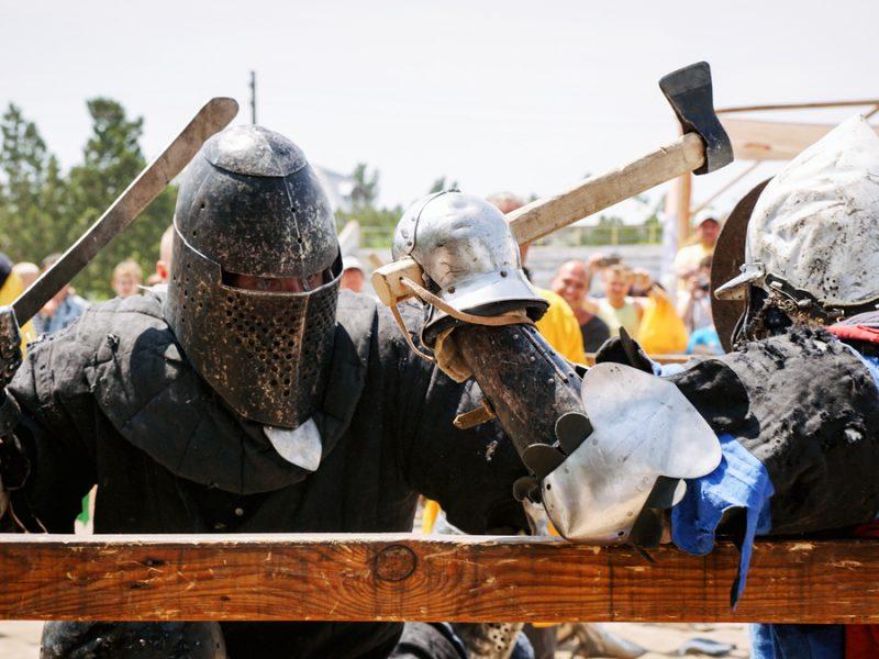 Лучшие рыцари Средневековья сразились в Николаеве за Кубок Ольвии