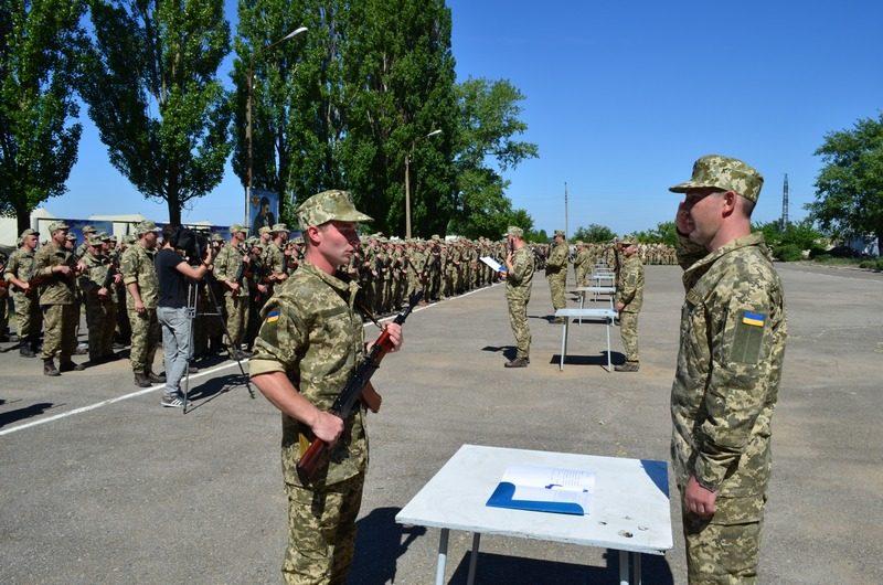 На Николаевщине проходят сборы с личным составом отдельного стрелкового батальона Николаевского ОВК