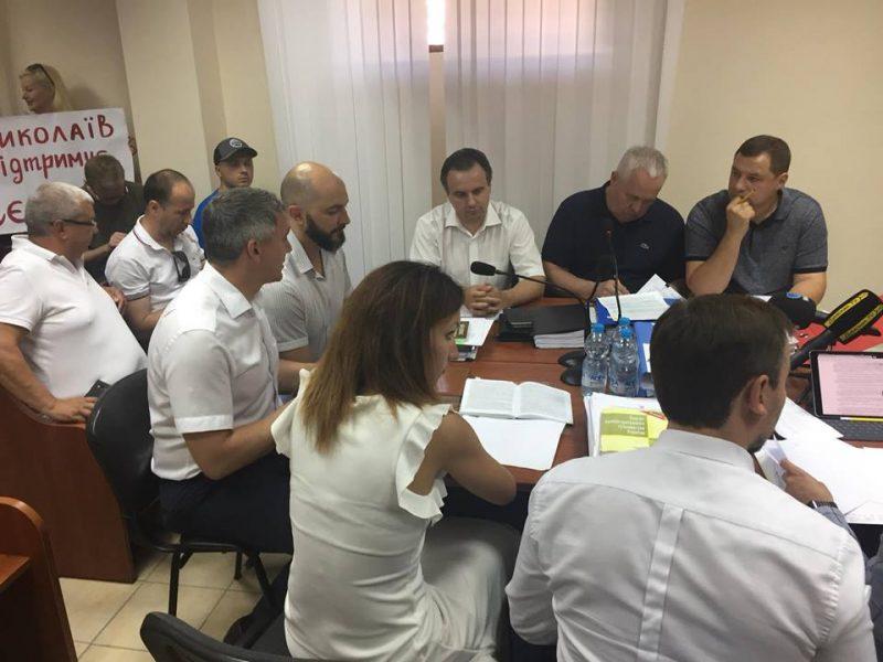 В Одессе решается судьба мэра Николаева