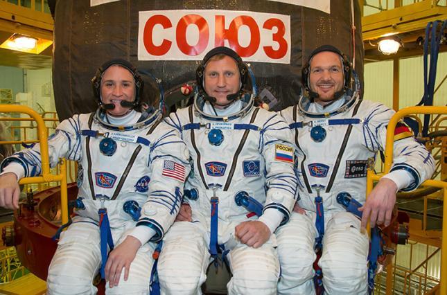 Новый экипаж МКС стартовал с космодрома Байконур
