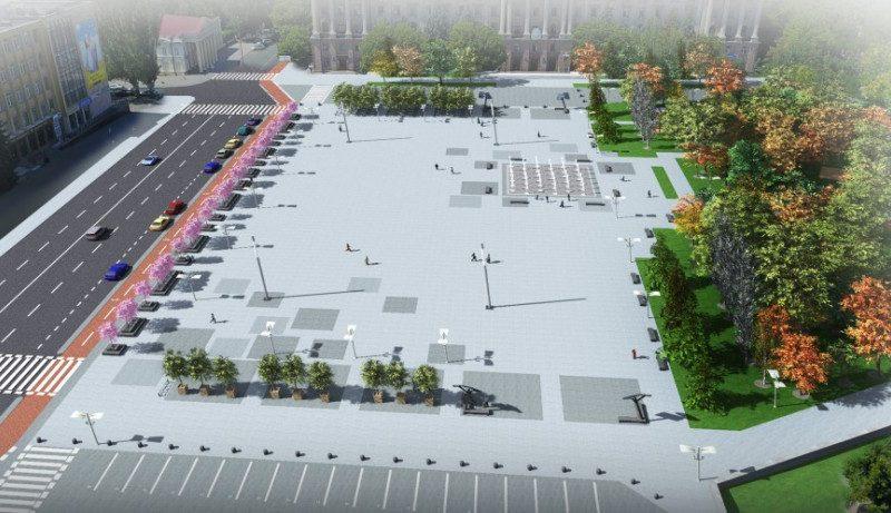 В Николаеве предлагают уменьшить проезжую часть и закрыть Ингульский спуск – начался новый виток споров о том, как должна выглядеть Соборная площадь