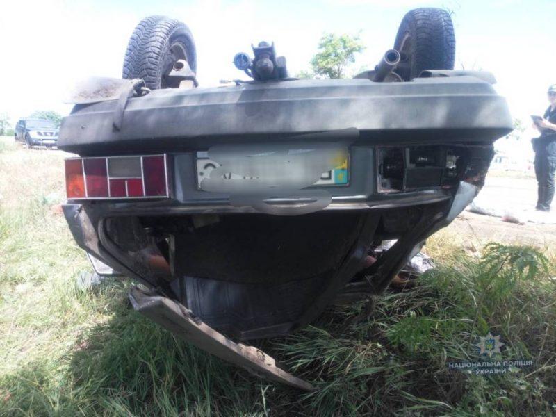В Витовском районе в аварии погибла женщина. Еще трое человек травмированы
