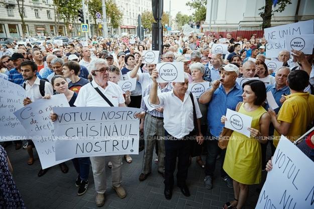 Суд признал недействительной победу на выборах мэра Кишинева проевропейского кандидата