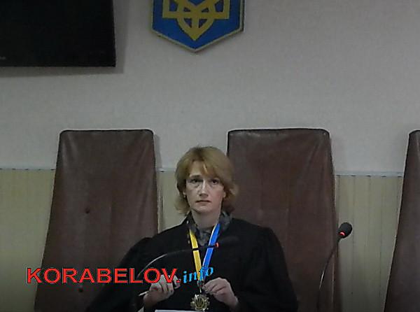 Судья Корабельного райсуда Николаева, на сына которой открыли уголовное производство после публикации в СМИ, обвинила журналиста в угрозе сжечь ее автомобиль
