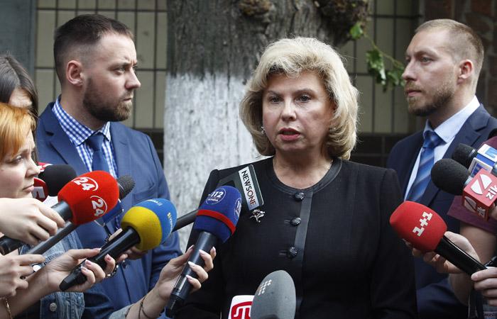 Российский омбудсмен: ФСБ в воскресенье задержала 24 украинских моряка