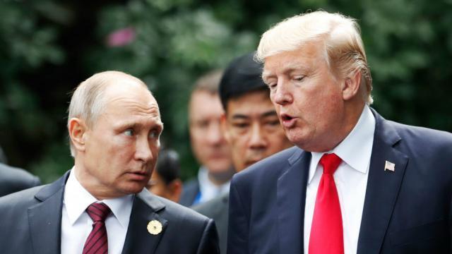 Путин удивлен «недружественными действиями» США и предлагает Трампу встретиться в Париже