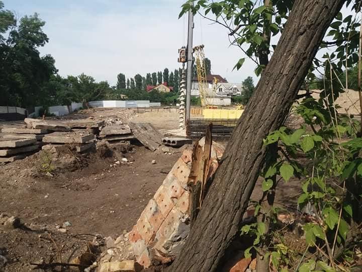 Фирма известной зоозащитницы без разрешений вырубает деревья и застраивает последний выход на пляж Леваневцев – депутат