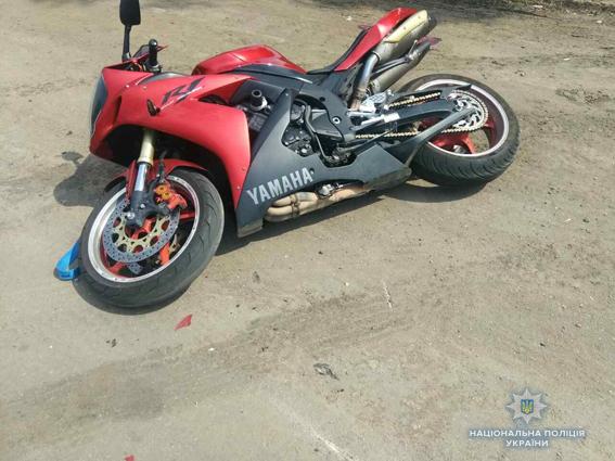 На Николаевщине за сутки двое мотоциклистов получили травмы в ДТП