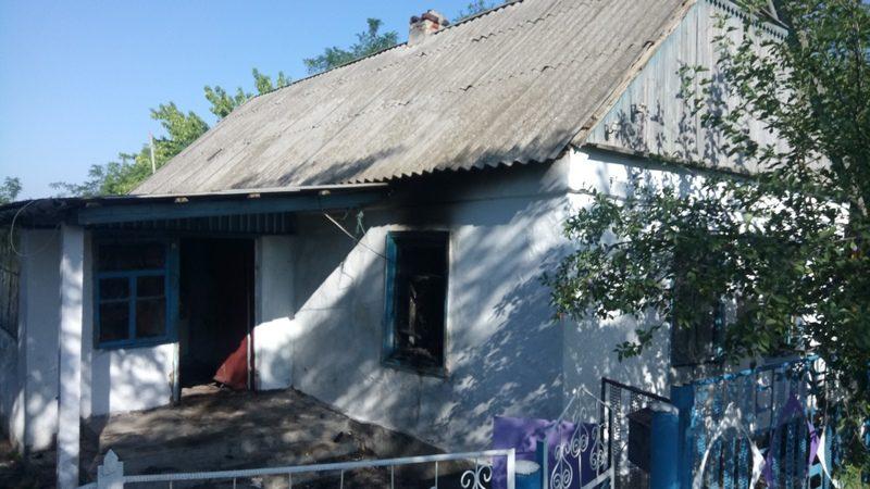 Неосторожность с огнем на Николаевщине привела к пожару в жилом доме