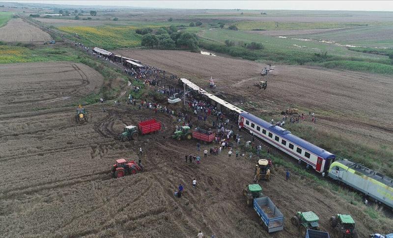 В Турции перевернулся пассажирский поезд: 10 погибших, 73 раненых