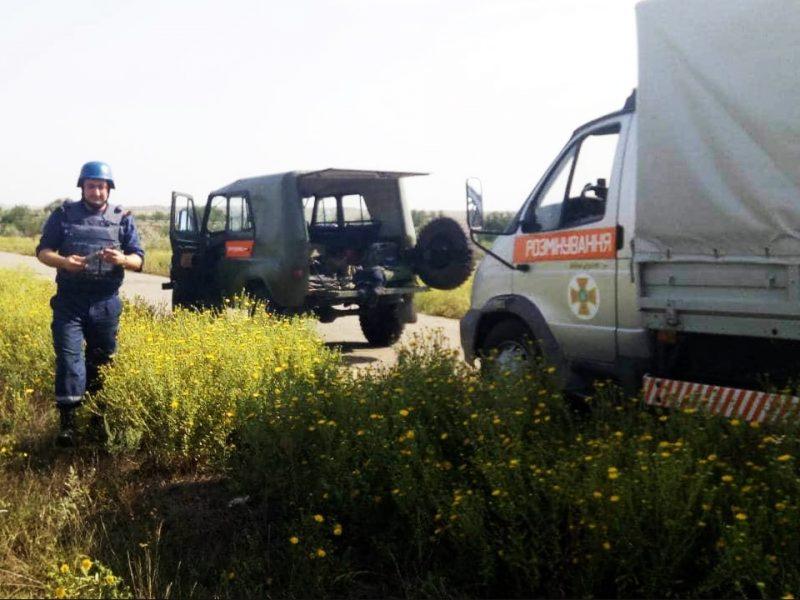 В Центральном районе Николаева нашли современный артснаряд. И обезвредили
