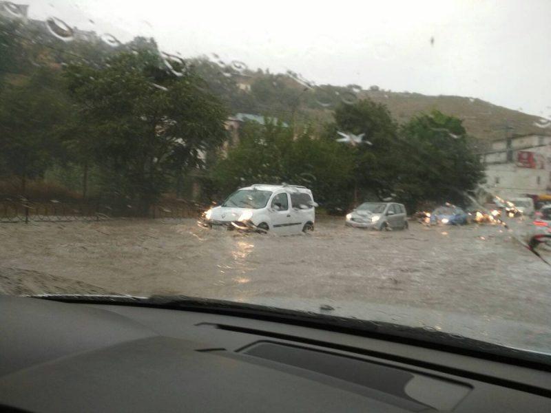 Оккупированный Севастополь затопило