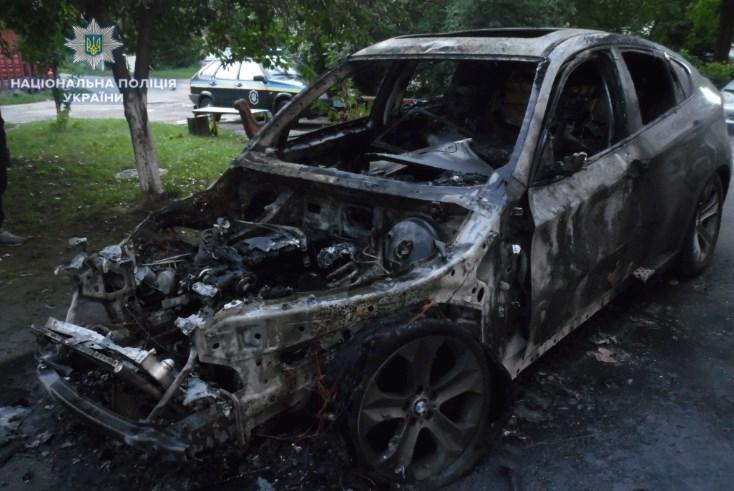 В Ровенской области сожгли автомобиль замглавы райгосадминистрации