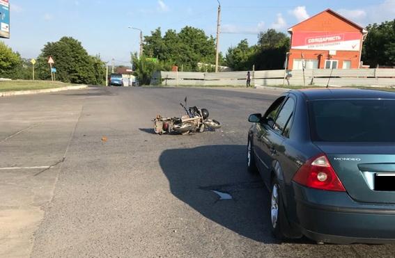 На Николаевщине еще один мотоциклист пострадал в ДТП