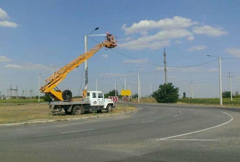 На дорогах Николаевской области установят фонарей и подсветки перекрестков на 31 млн.грн. за счет ЕИБ