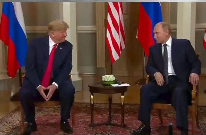 Служба безопасности Трампа проверила подаренный Путиным мяч