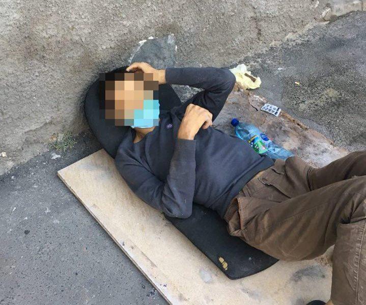 Отрабатывая вызов «Лежит неизвестный», в Николаеве патрульные обнаружили и задержали убийцу