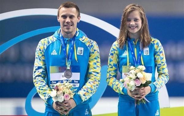 Николаевец Олег Колодий завоевал «золото» чемпионата Европы в командном турнире по прыжкам в воду