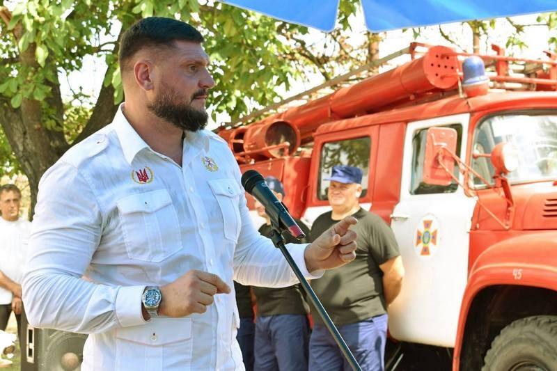 В Шевченковской ОТГ на Николаевщине сформировали добровольную местную пожарную команду