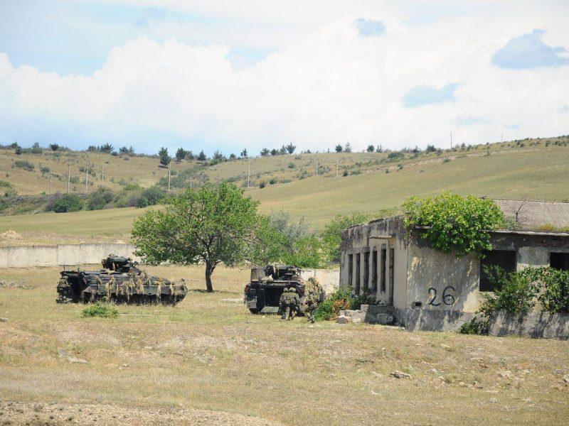 Николаевские морпехи на учениях в Грузии отработают защиту горного хребта
