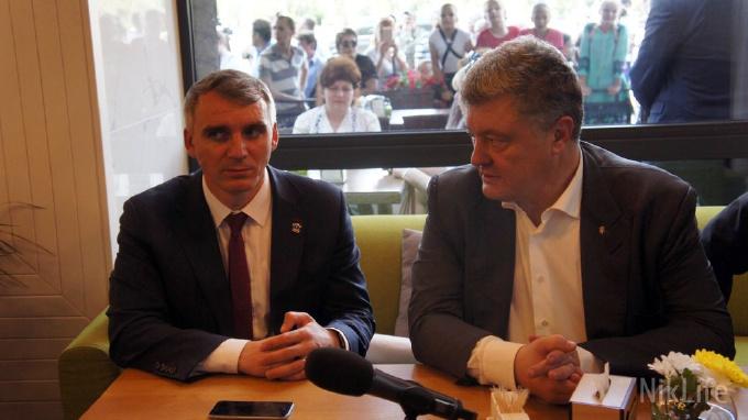 Сенкевич признал, что получение денег от Порошенко на площадь Соборную ускорилось после напоминания журналиста
