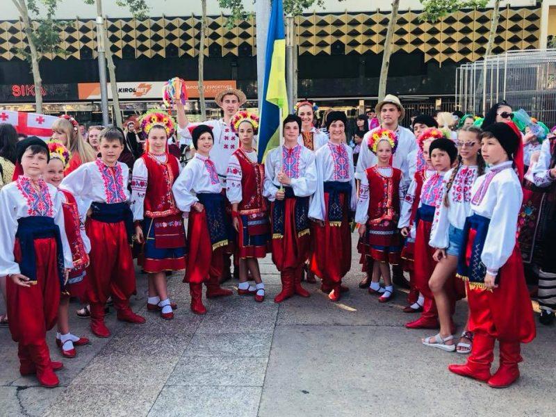 Первоклассный «Сувенир» – ансамбль танца из Николаева привез из Испании победу в международном фестивале