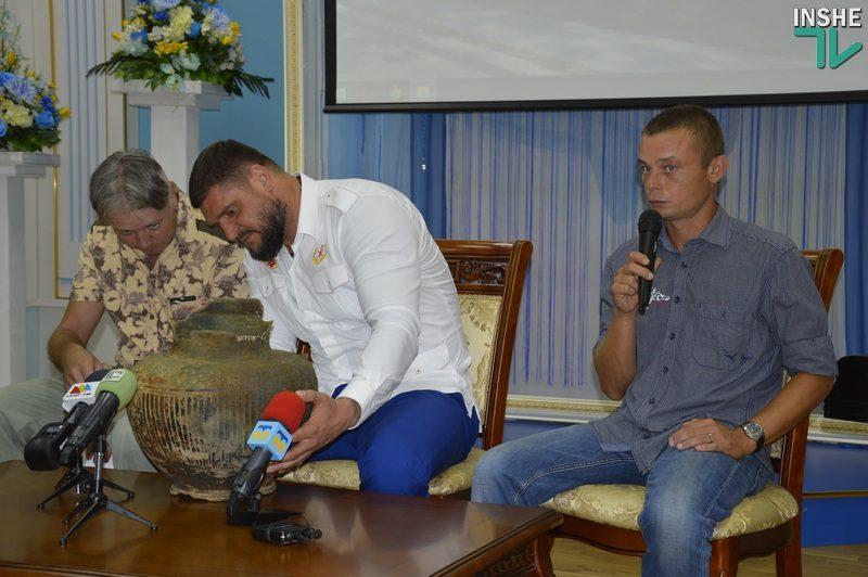 В Очакове должен появиться Центр подводной археологии Украины