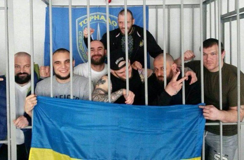 """Бунт в Лукьяновском СИЗО. Взбунтовались """"торнадовцы"""", их увезли в неизвестном направлении"""