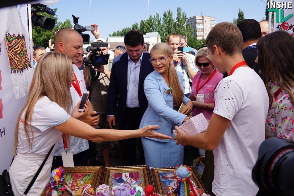 Тимошенко в Николаеве: «Вся страна превратилась в заложников жадности, наглости и цинизма» 5