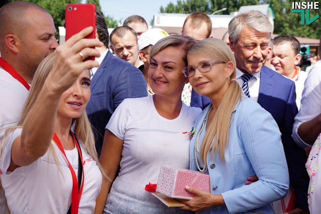 Тимошенко в Николаеве: «Вся страна превратилась в заложников жадности, наглости и цинизма» 7