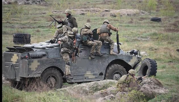Боевики НВФ 6 раз нарушили режим прекращения огня, украинские военные не пострадали – штаб ООС