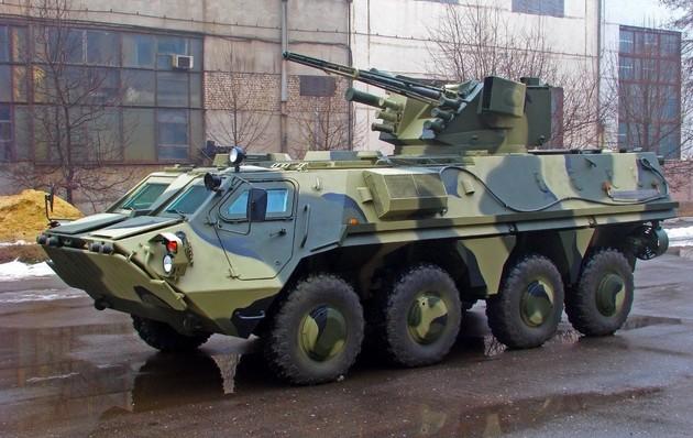 Начата сборка экспериментального корпуса БТР-4