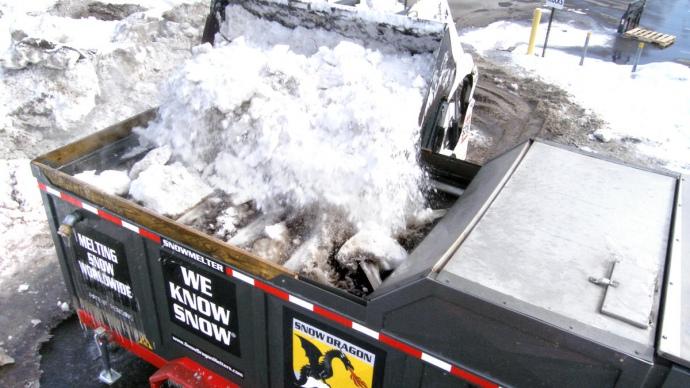 В Киеве зимой снег будут плавить