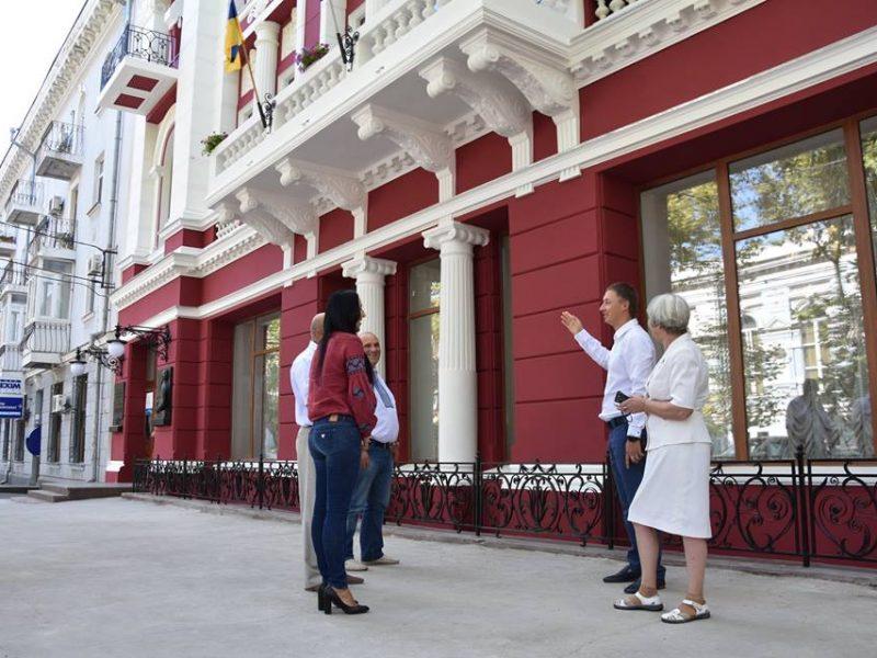 Реставрация фасада художественного музея им. Верещагина завершена в срок