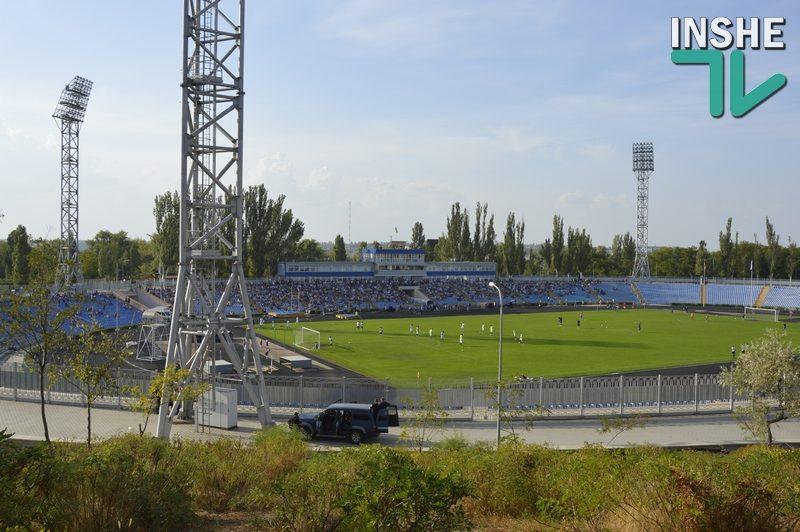 Весной МФК «Николаев» вернется на Центральный стадион