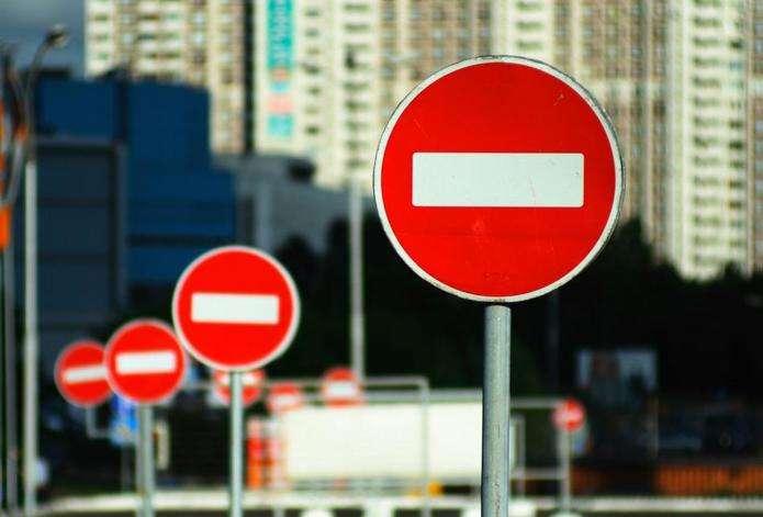 Из-за акции «евробляхеров» движение затруднено в 23 населенных пунктах