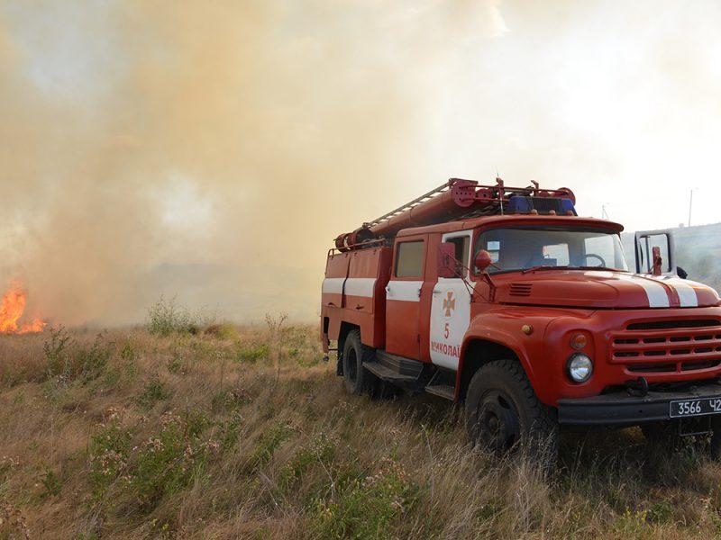C начала года на открытых территориях произошло более 10 тысяч пожаров