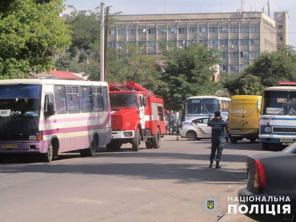 И не ребенок же ж: в Николаеве «минером», сообщившем о взрывчатке в авто у автовокзала, оказался 59-летний мужчина 1