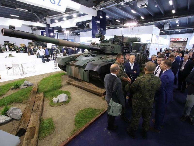 На международной выставке оборонной промышленности в Польше Николаевский бронетанковый завод представляет ряд своих продуктов