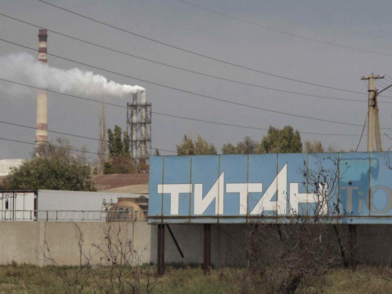 Химические выбросы в Крыму: в больнице остаются пять пограничников