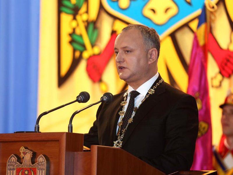 Президента Молдовы планируют отстранить от должности в пятый раз