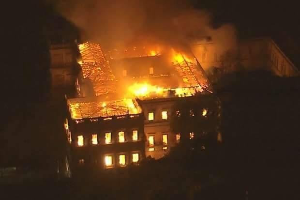 Всемирное наследие и невосполнимая утрата. В Бразилии сгорел уникальный музей
