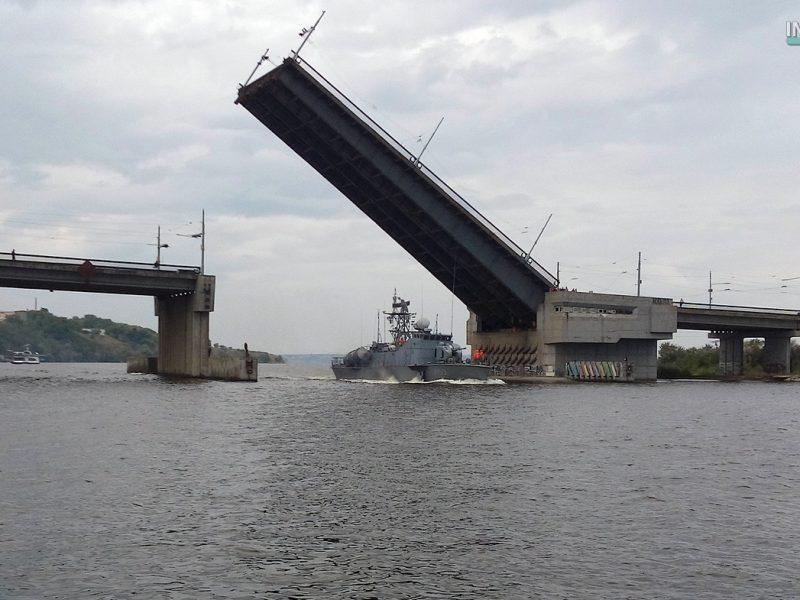 Сегодня разводки мостов не будет — ракетный катер «Прилуки» покинет Николаев в пятницу