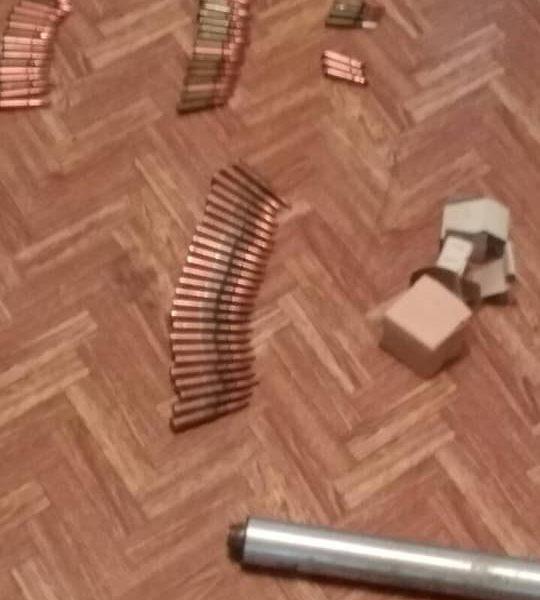 Военнослужащий из Очакова незаконно хранил дома арсенал боеприпасов