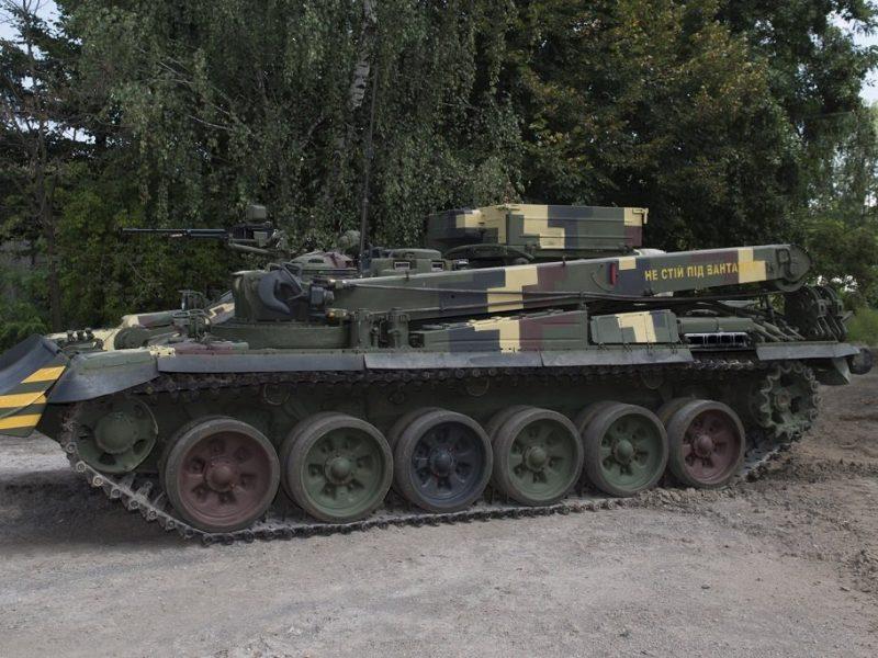 «Укроборонпром» завершил ведомственные испытания новой БРЭМ «Лев»
