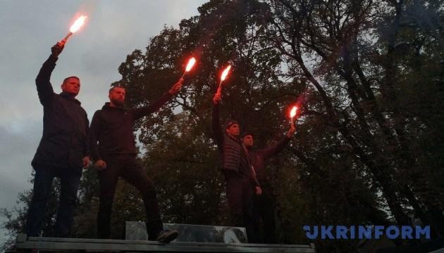 """""""Ночь на Банковой"""": в Киеве протестуют из-за нападений на активистов"""