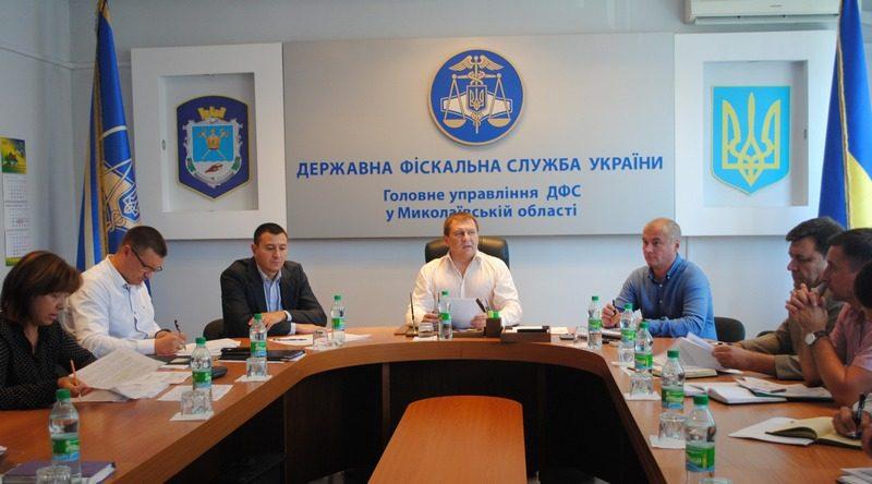 Реорганизация ГУ ГФС в Николаевской области: созданы территориальные управления